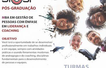 MBA EM GESTÃO DE PESSOAS: LIDERANÇA E COACHING SIEEESP (Não Sindicalizados )
