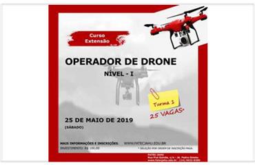 OPERADOR DE DRONE – 2º Turma