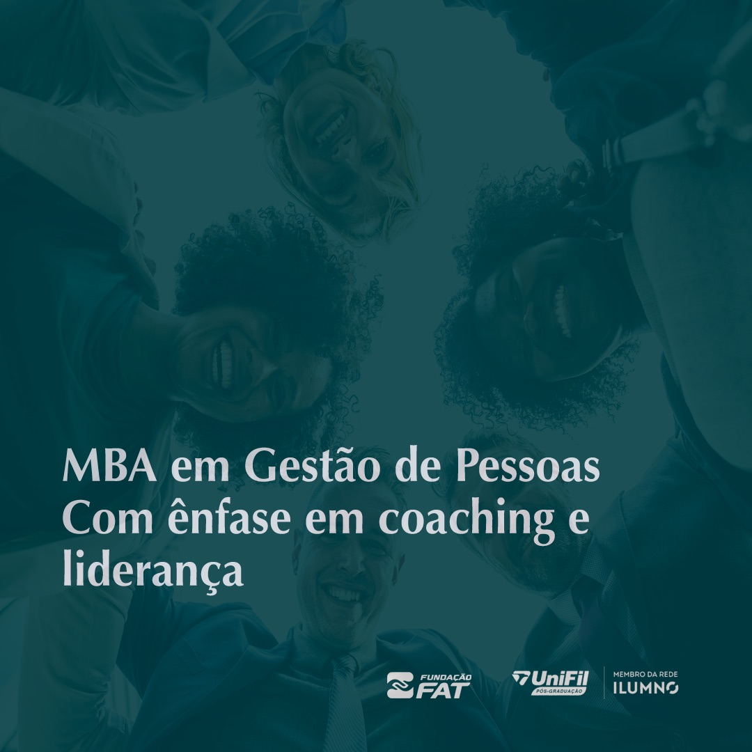 MBA em Gestão de Pessoas Com ênfase em coaching e liderança