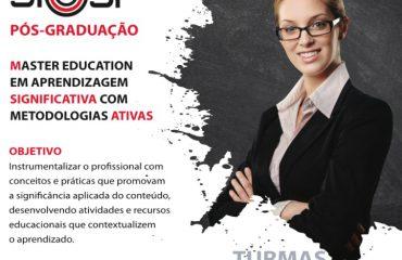 MASTER EDUCATION EM APRENDIZAGEM SIGNIFICATIVA COM METODOLOGIAS ATIVAS – SIEEESP (Não Sindicalizados)