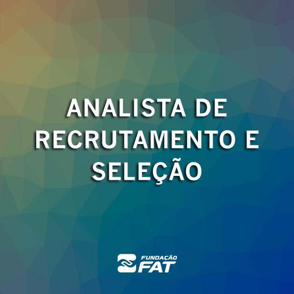 Analista de Recrutamento e Seleção