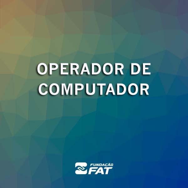 Operador de Computador