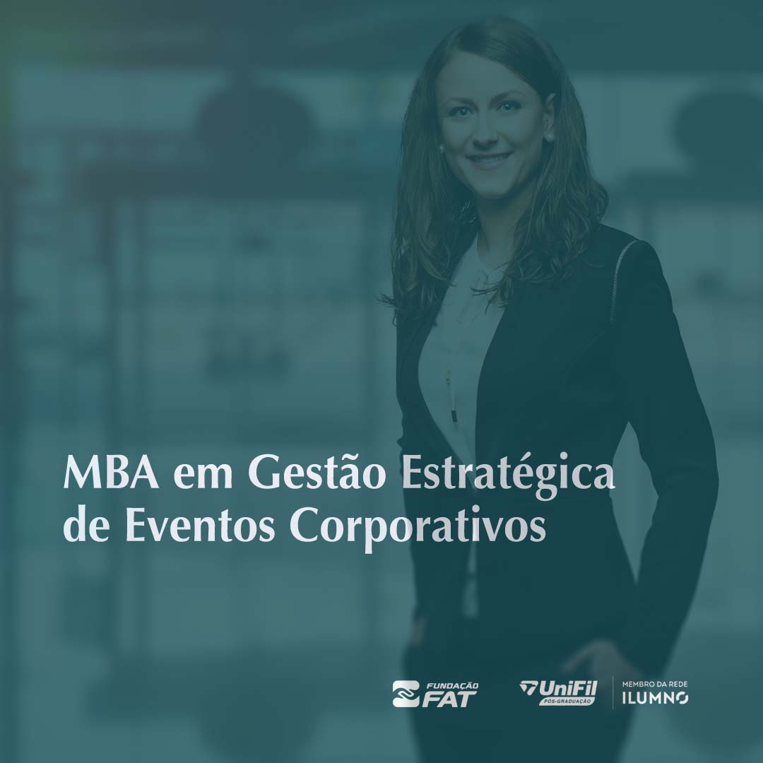 MBA em Gestão Estratégica de Eventos Corporativos (FIESP)