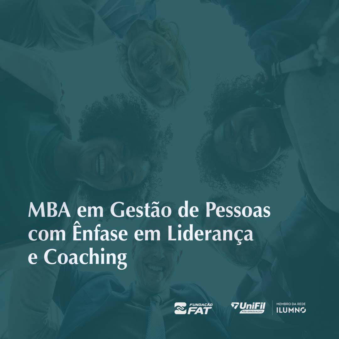 MBA de Gestão de Pessoas com Ênfase em Liderança e Coaching (FIESP)