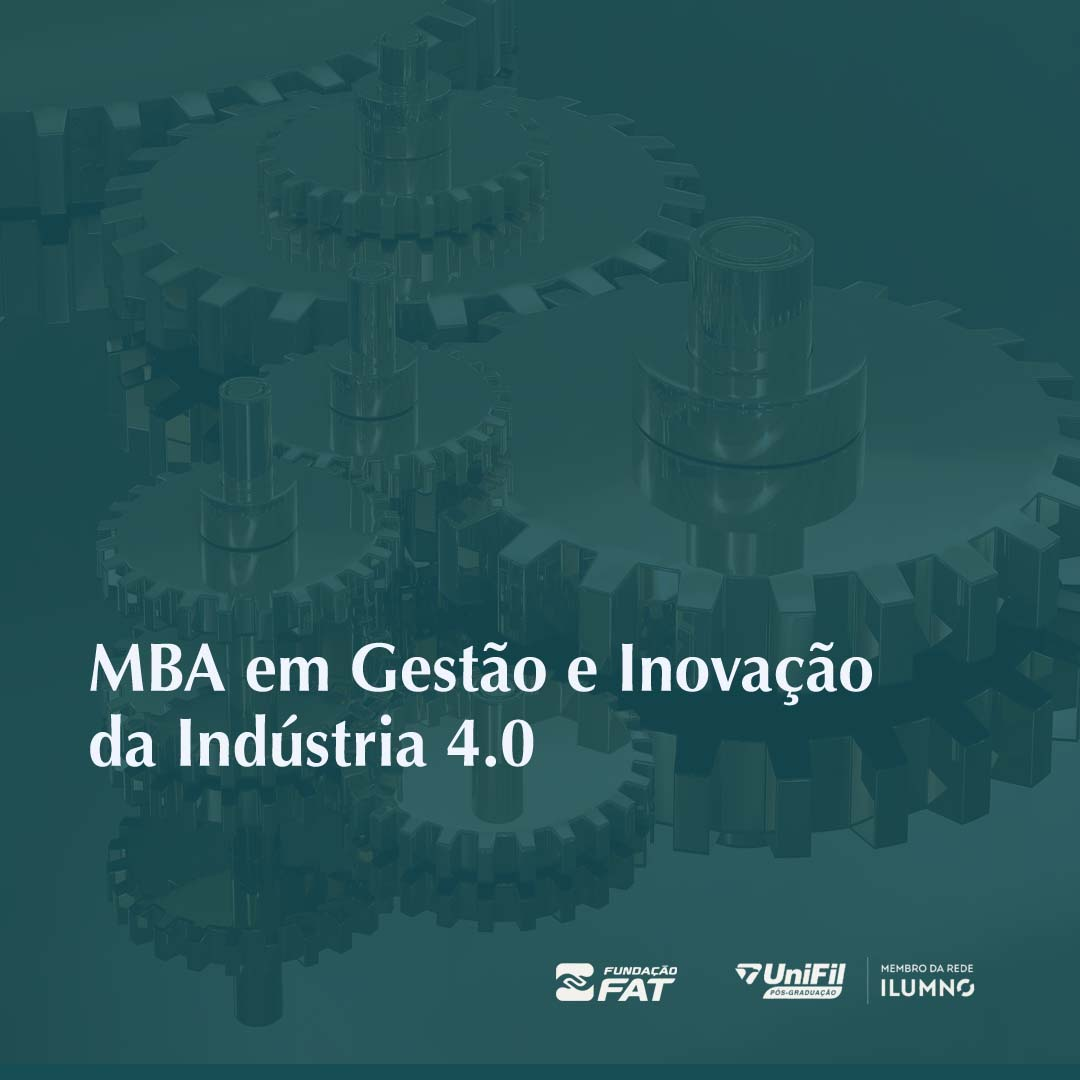 MBA em Gestão e Inovação da Indústria 4.0 (FIESP)