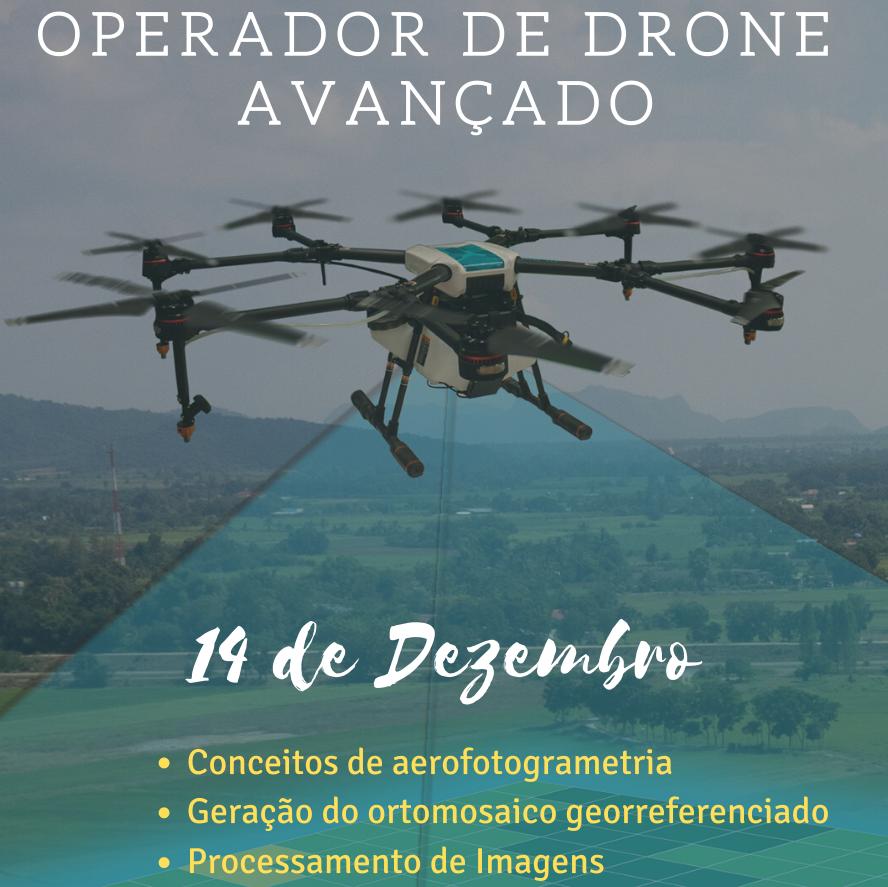 CURSO DE OPERADOR DE DRONE – NÍVEL AVANÇADO – BOTUCATU
