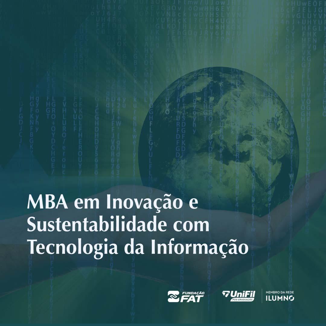 MBA em Inovação e Sustentabilidade com Tecnologia da Informação (FIESP)