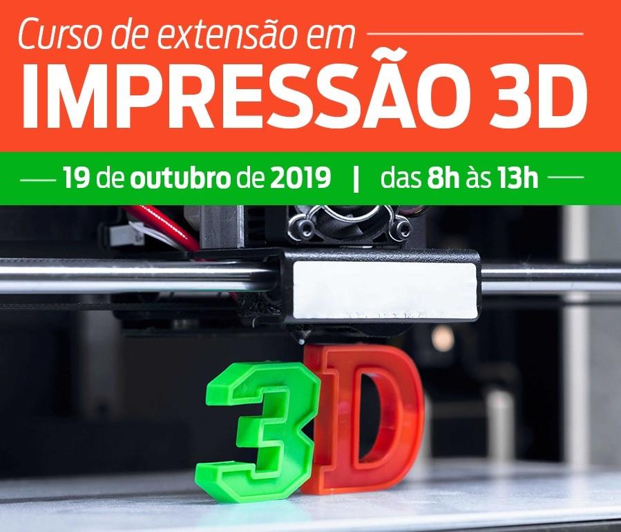 CURSO DE IMPRESSÃO 3D