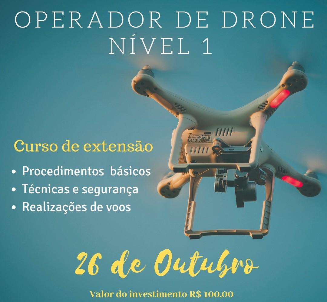 Imagem 1 Curso de Operador Drone