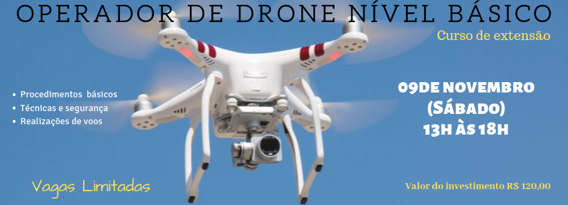 OPERADOR DE DRONE – NÍVEL BÁSICO(BAURU)