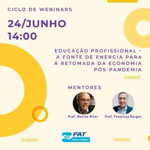 Ciclo de Webinars sobre Educação Profissional