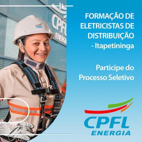 """Curso de  Escola de Eletricistas """"Formação de Eletricistas de Rede de Distribuição CPFL –  T03″ – Inicio 18.01.21"""